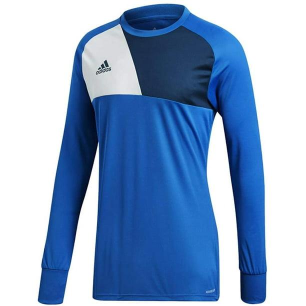 adidas Assita 17 Goalkeeper Jersey - Blue XL, Ribbed crewneck By ...