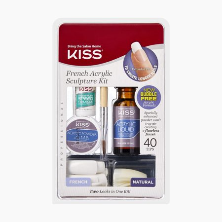 KISS French Acrylic Kit (French Kiss Shanghai Lily)