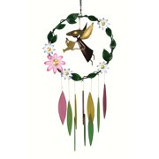 Gift Essentials Garden Angel with Large Flowers Wind Chime