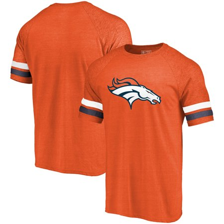 Denver Broncos NFL Pro Line by Fanatics Branded Refresh Timeless Tri-Blend T-Shirt - Navy - Denver Broncos Halloween