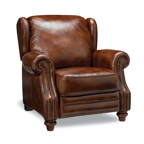 Sofas to Go Henderson Leather Manual Recliner