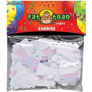 Axiom International Iridescent Wedding Confetti, 0.5-Ounce, 1-Pack Multi-Colored
