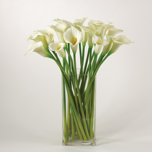 Saro Faux Botanicals Lily Stem (Set of 12)