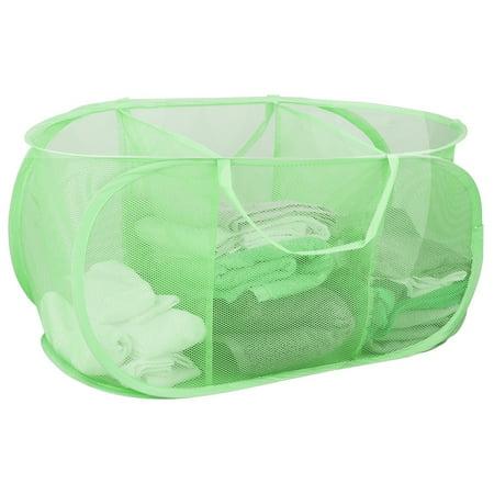 Sunbeam Mesh Laundry Hamper - Triple Sorter 4 Pack Assorted