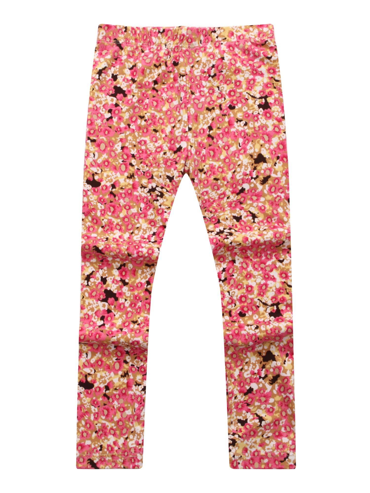 Richie House Girls' Patterned Stretch Pants RH0704
