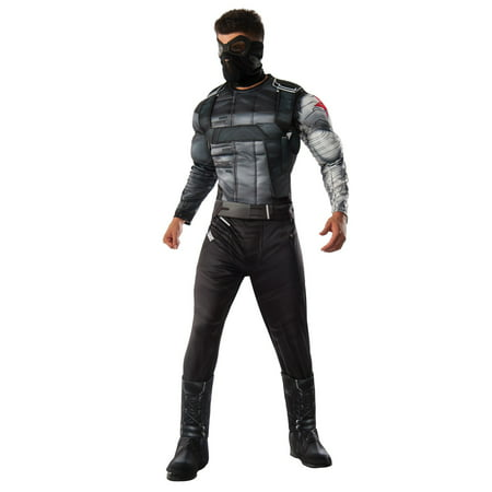 Deluxe Winter Soldier Adult Costume - X-Large