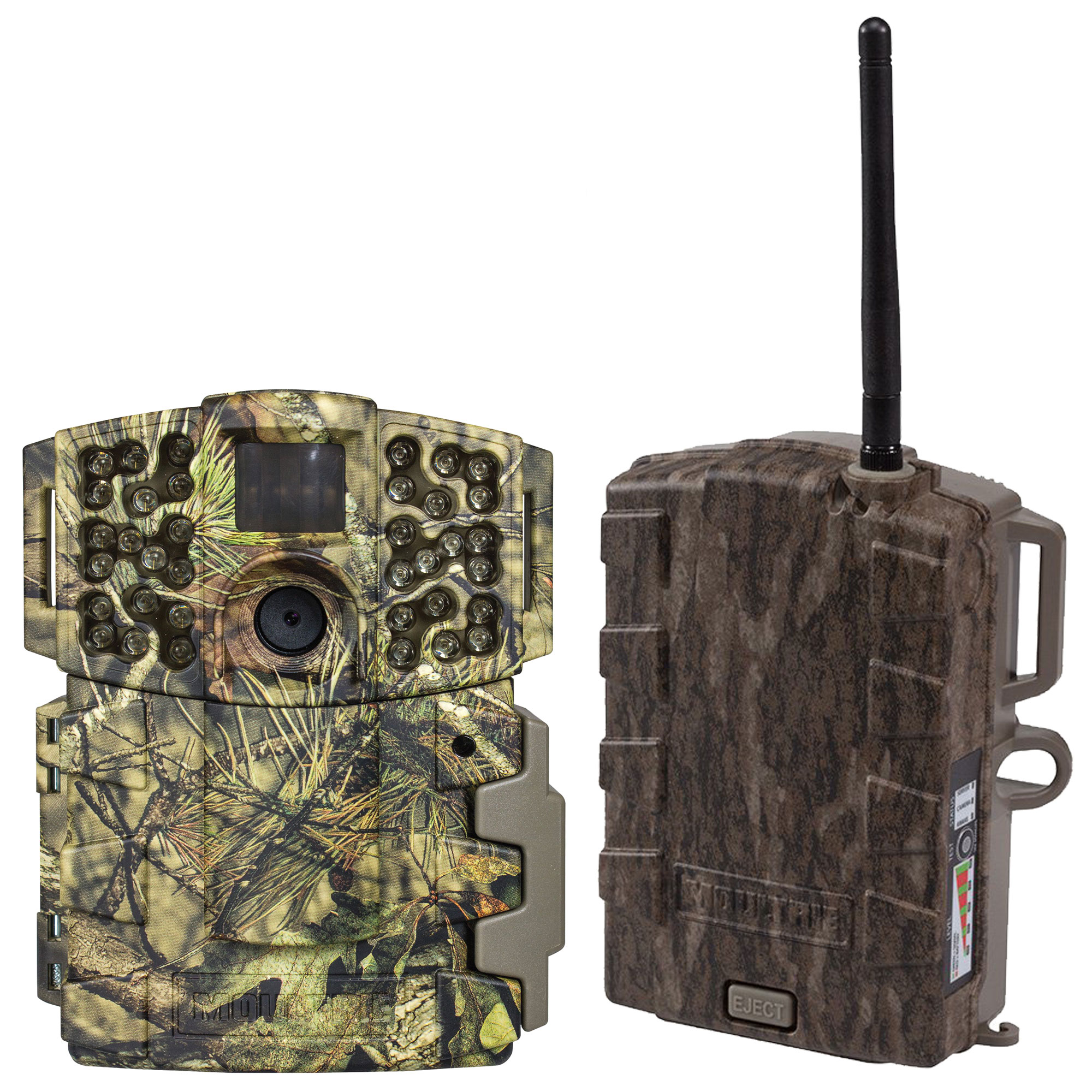 Moultrie No Glow Invisible 20MP Mini 999i IR Trail Game Camera + Field Modem by Moultrie
