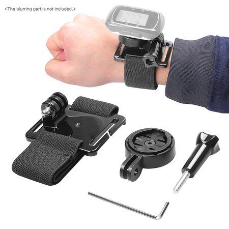 Andoer Wrist Hand Strap Band Belt Armband with Holder Adapter for Garmin GPS Edge Cycle 25 200 500 510 520 800 810 1000 Accessories for (Garmin Edge 800 Best Price)