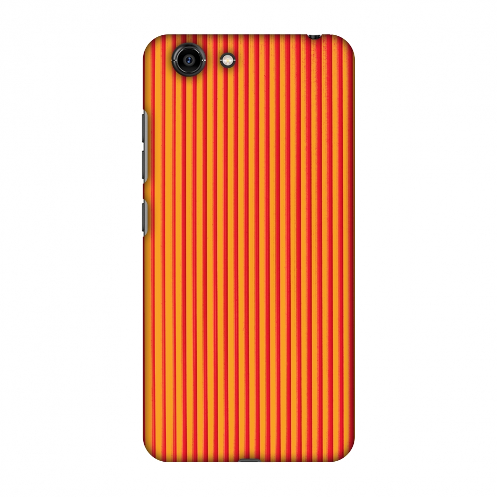 Gionee S10C Case, Premium Handcrafted Printed Designer Hard Snap On Case Back Cover with Screen Cleaning Kit for Gionee S10C - Carbon Fibre Redux Tangy Orange 14