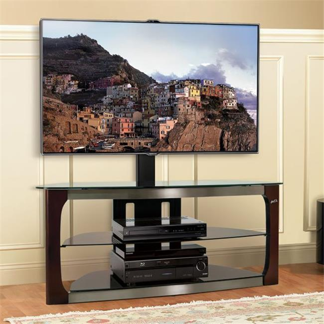 Triple Play Universal Flat Panel A-V System with Swivel TV Mounting