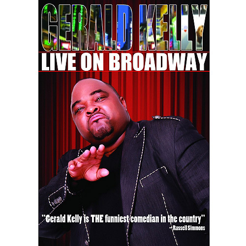 Click here to buy Gerald Kelly: Live On Broadway (Widescreen).