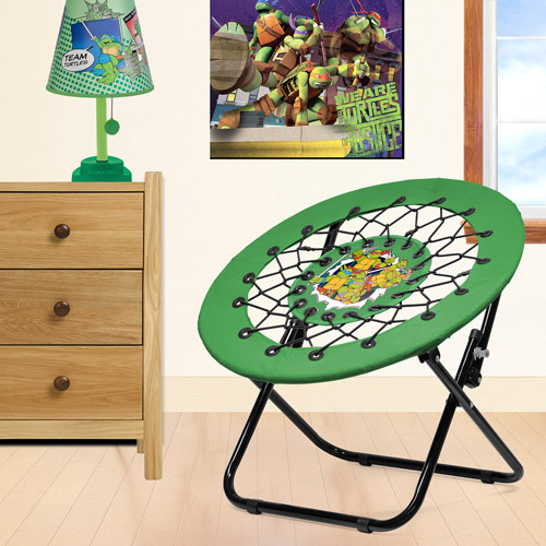 Nickelodeon - TMNT Bedroom/Playroom Accessories Set including a Lamp, Decorative Wall Art and a Flex Chair- Value Bundle