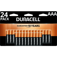 Duracell 1.5V Coppertop Alkaline AAA Batteries 24 Pack