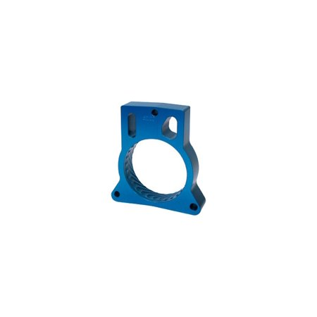 Jet Performance 62112 Throttle Body Spacer, Blue Anodized - Aluminum Throttle Body