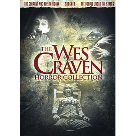 The Wes Craven Horror Collection (DVD) - Halloween Horror Movies On Netflix