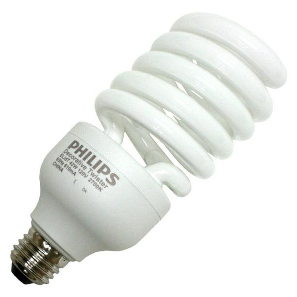 82 CRI Compact Fluorescent PHILIPS 13948-5 - 150 W Equal 2700K Warm White 42 Watt CFL Light Bulb 67 Lumens per Watt 12 Month Warranty