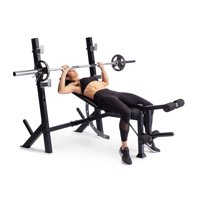 Deals on Weider Legacy Olympic Workout Bench and Rack WEBE24920