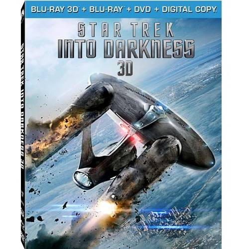 Star Trek: Into Darkness (3D Blu-ray + Blu-ray + DVD + Digital Copy) (With INSTAWATCH) (Widescreen)