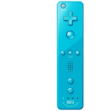 nintendo wii remote plus blue wii wii u. Black Bedroom Furniture Sets. Home Design Ideas