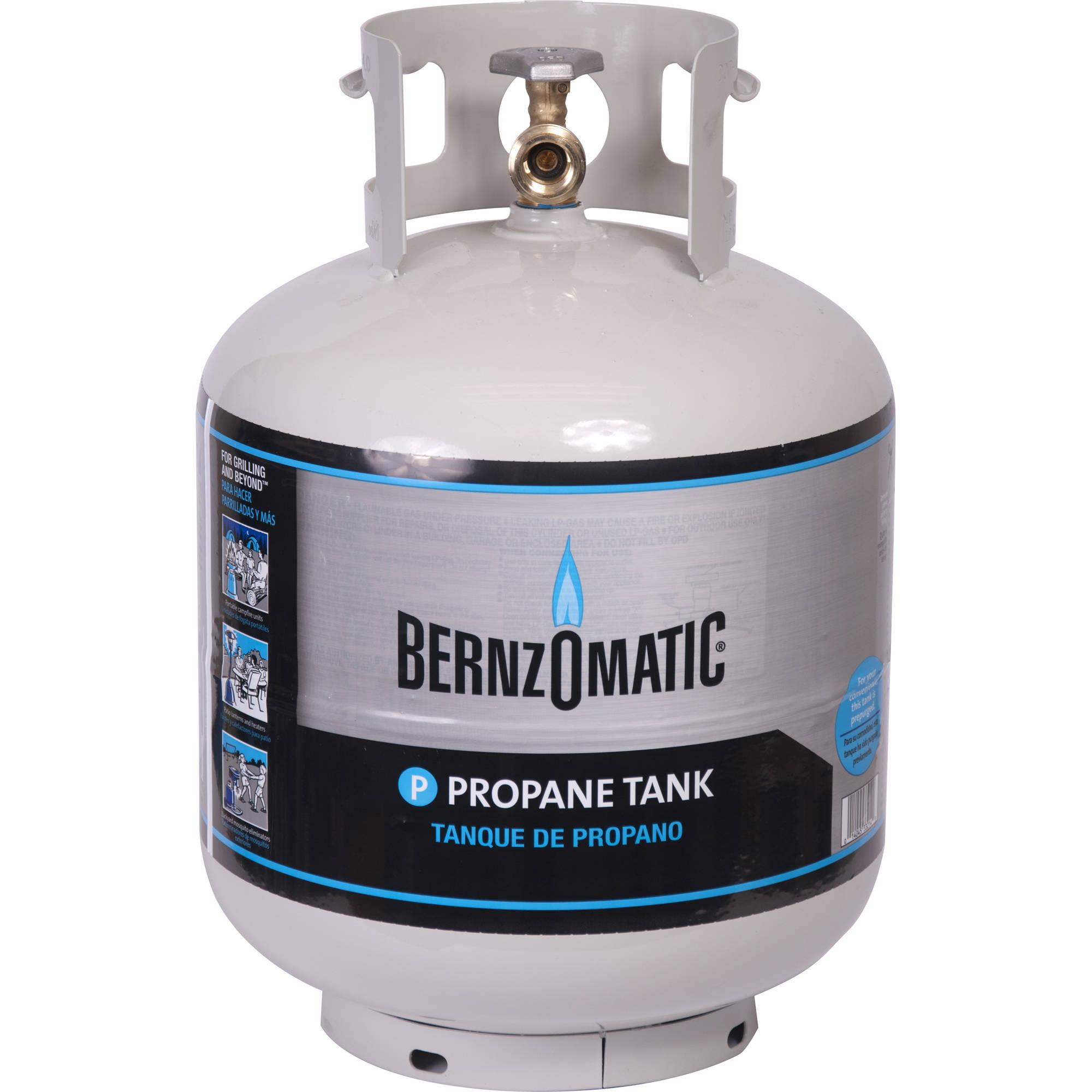 Bernzomatic 20-Pound Refillable Propane Tank