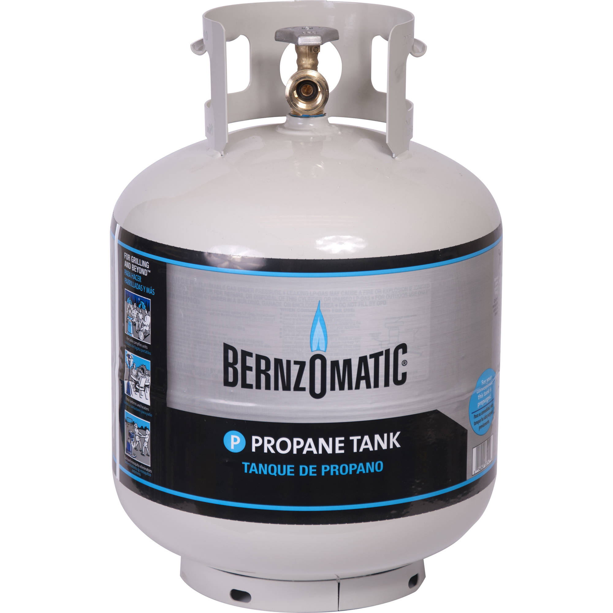 Bernzomatic 20-Pound Refillable Propane Tank