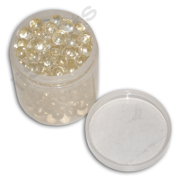 .43cal 11mm Paintballs - 250 Pack CLEAR