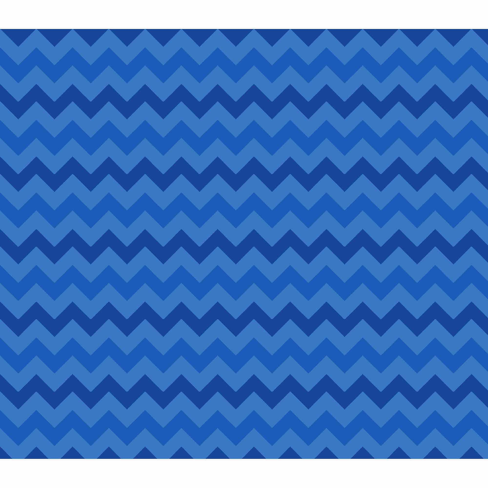 Springs Creative Cotton Blenders Tonal Chevron, Blue, Fabric by the Yard