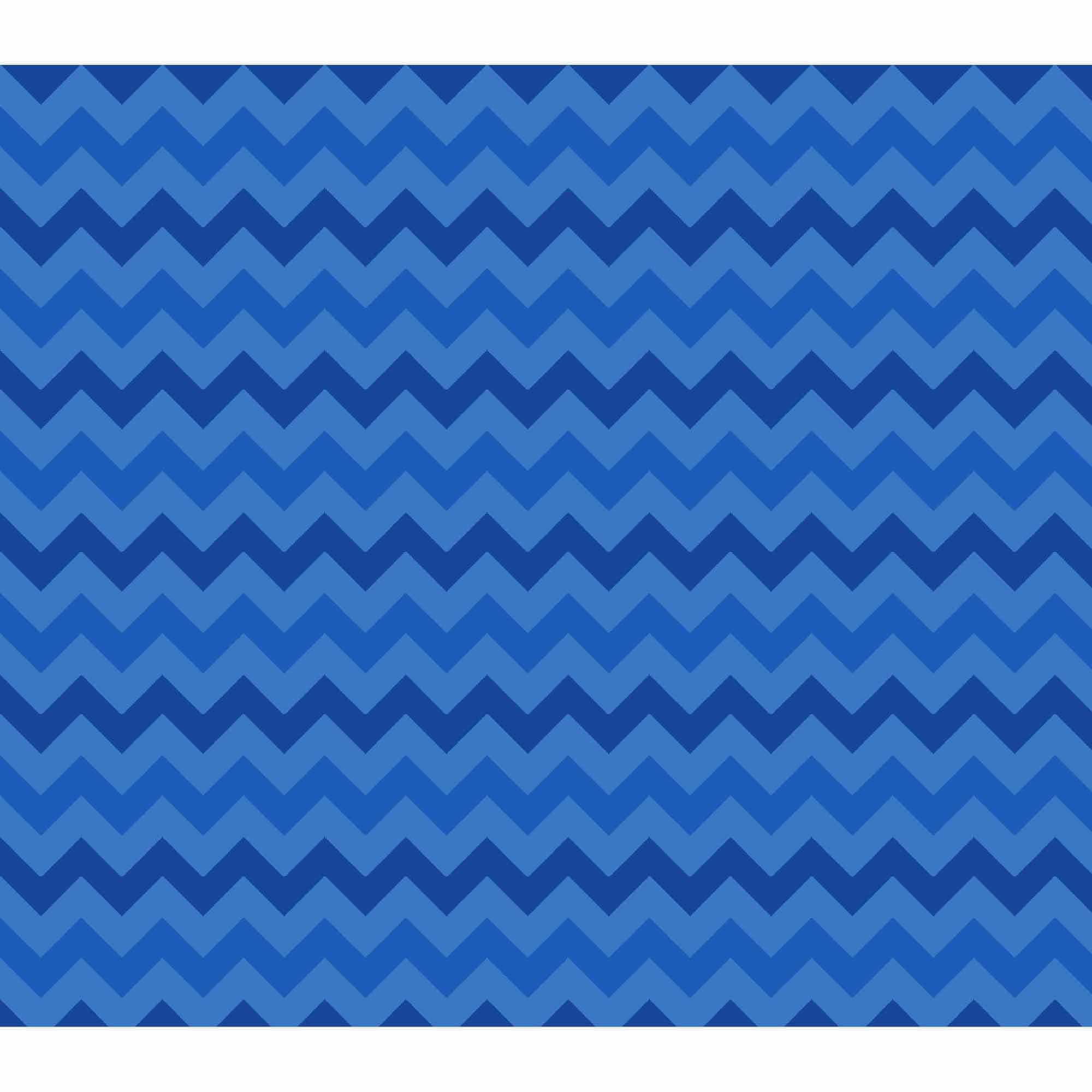 Springs Creative Cotton Blenders Tonal Chevron, Blue, Fabric by the Yard