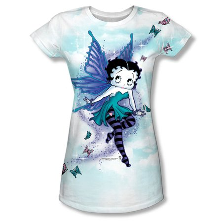 Betty Boop  Sparkle Fairy Girls Jr Sublimation - Betty Boop Birthday