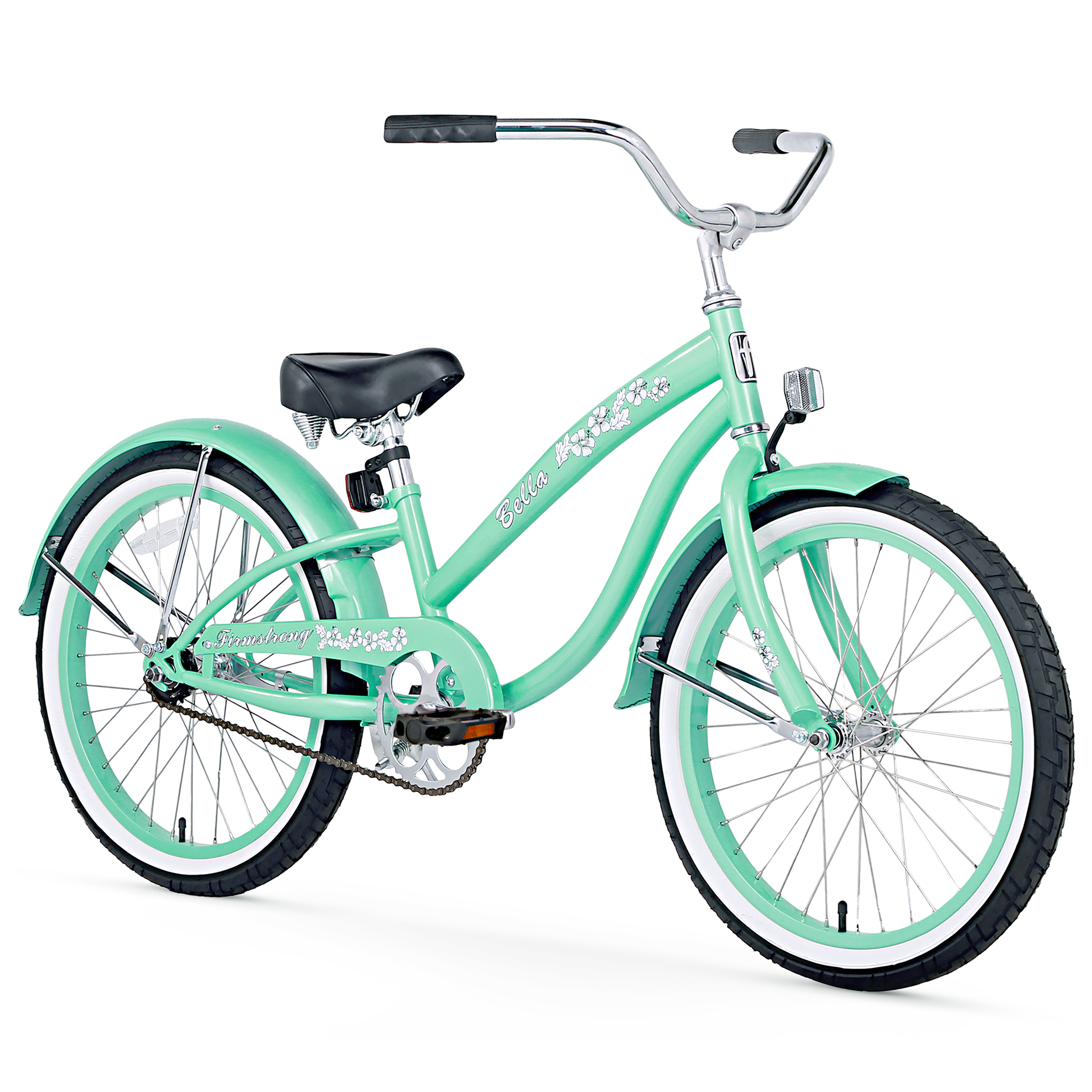 "Firmstrong Bella Classic, 20"", Girl's, Single Speed, Mint Green"