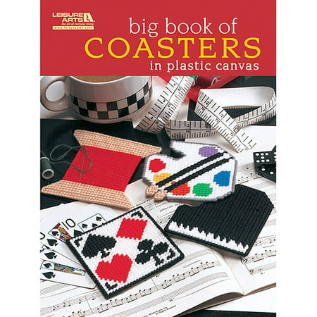Leisure Arts Big Book Of Coasters In Plastic Canvas
