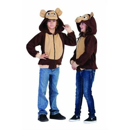 Morgan the Monkey Hoodie Child Costume