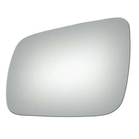 Lanzar Driver (For 2008-14 Mitsubishi Lancer Driver Side Drop Fit Flat Door Mirror Glass)