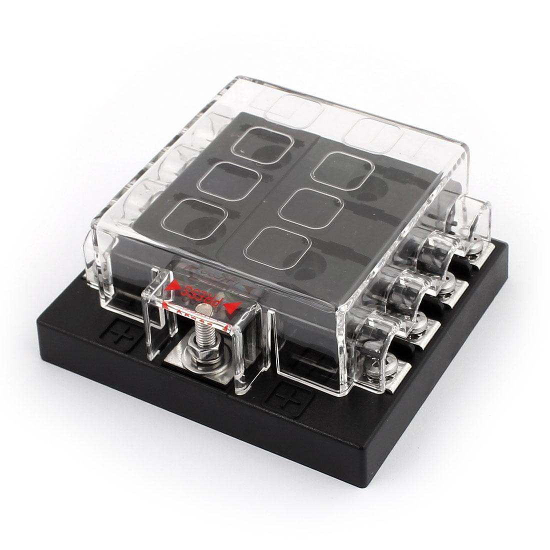 dc32v 8 way terminals circuit car auto blade fuse box block holder w rh walmart ca Murano Fuse Box Circuit 2012 Kia Soul Fuse Box