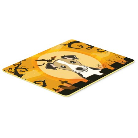 Halloween Jack Russell Terrier Kitchen or Bath Mat 24x36 - Jack Russell Halloween