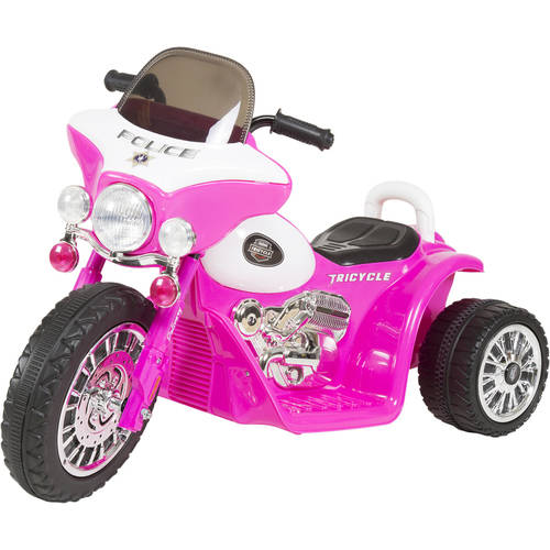 3 Wheel Mini Motorcycle Trike for Kids, Battery Powered Ride on Toy by Rockin Rollers �... by Trademark Global LLC