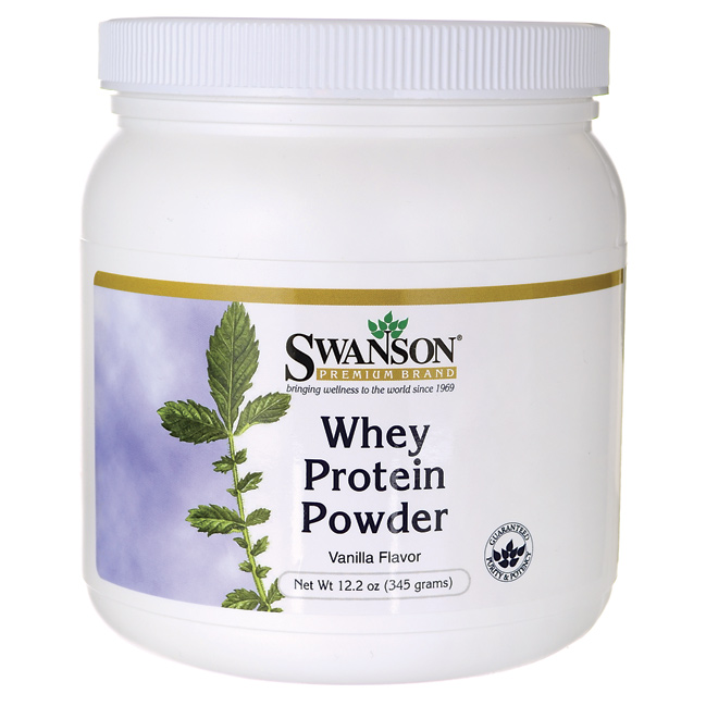 Swanson Original Whey Protein Powder w/Vitamins 12.2 oz (345 g) Pwdr