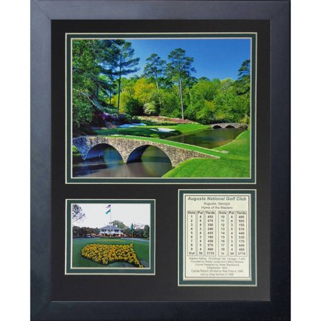 Augusta National Golf Course 11x14 Framed Photo Collage, by Legends ...