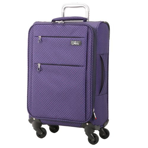 Skyway Luggage Skyway FL-Air Solid 20-inch Lighweight Expandable Carry On Spinner Upright Suitcase
