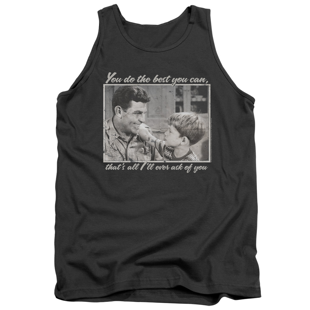The Andy Griffith Show Wise Words Mens Tank Top Shirt
