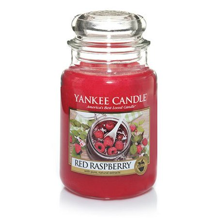 Yankee Candle® - Red Raspberry Large Jar Candle 22oz