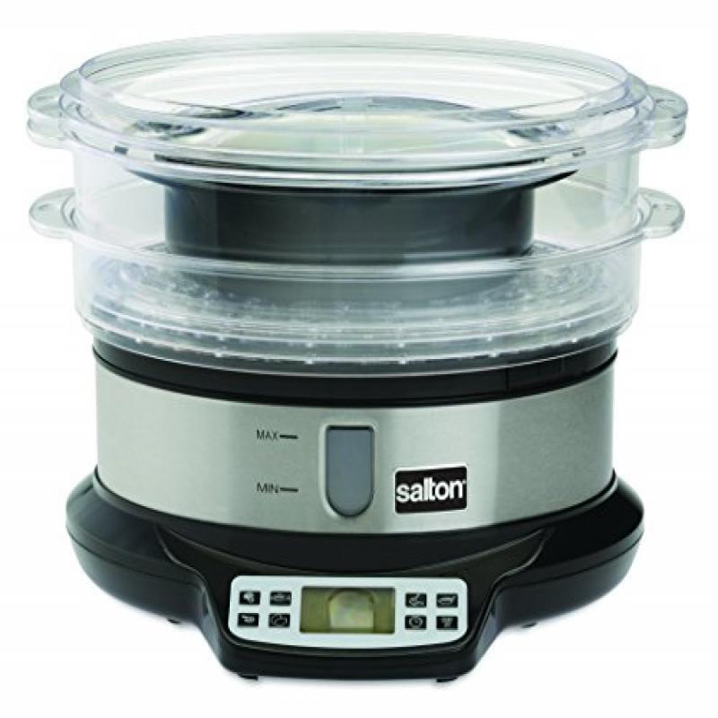 Salton VS1447 VitaPro Food Steamer and Rice Cooker