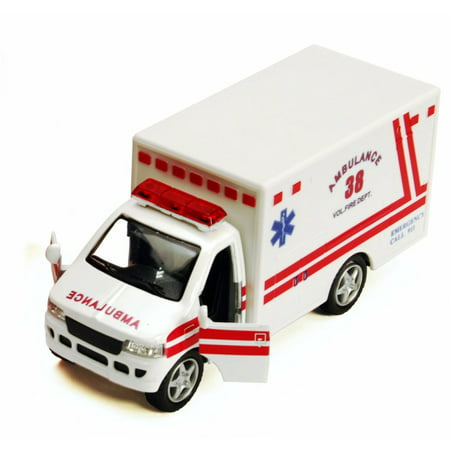 Rescue Team Ambulance, White - Kinsmart 5259D - 5
