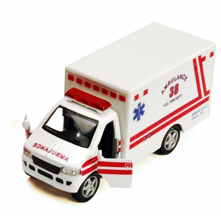 - Rescue Team Ambulance, White - Kinsmart 5259D - 5