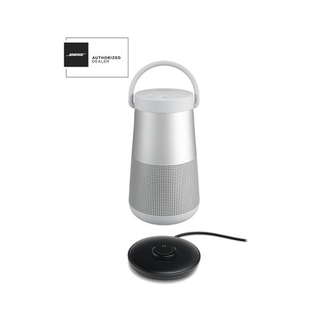 Bose SoundLink Revolve Plus Grey Bluetooth Speaker and Charge Cradle Kit