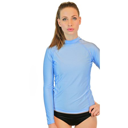 b55583f581e Swim Shirt For Women - Long Sleeve Rash Guard Top With UV 50 Skin / Sun