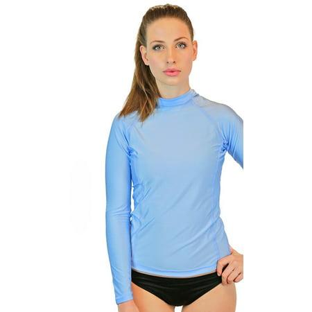 Goddess Rash Guards Swim Shirt For Women Long Sleeve