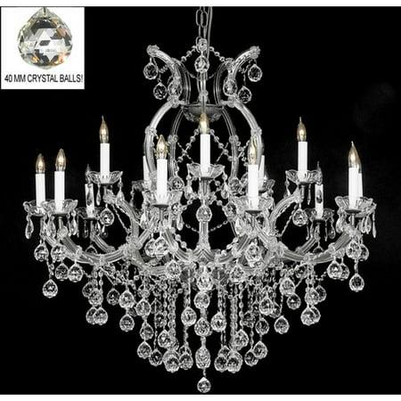 Harrison Lane Maria Theresa 16 Light Crystal Chandelier
