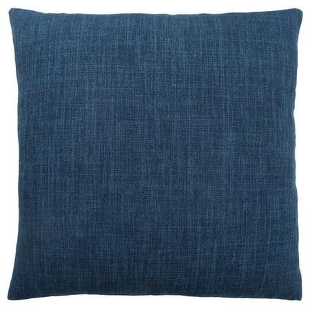 Monarch Linen Throw Pillow in Blue