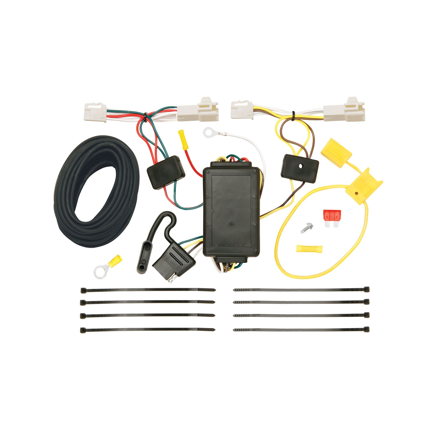 Tow Ready 118459 Wiring T-One Connector; Circuit Protected ModuLite Module; 3 Wire System; Amp Rating 2.1; 4.2;